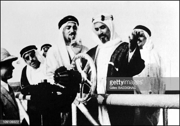 Burgan Oil Field Gathering Center N¦ 19 Of Al Ahmadi Kuwait On January 29Th Kuwait Hh Late Sheikh Ahmad Al Jaber Al Sabah Turning The Silver Wheel To...