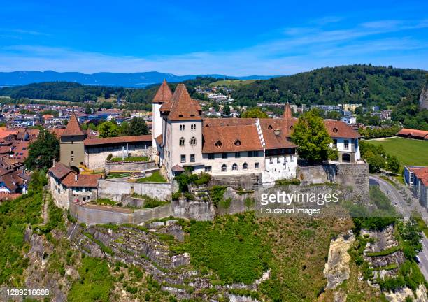 Burgdorf Castle, reopening on June 13, 2020 after a two-year renovation, Burgdorf, Canton of Bern, Switzerland.