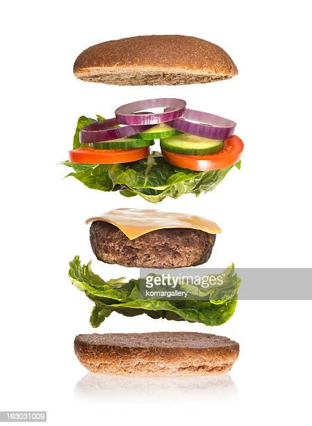 burger deconstructed