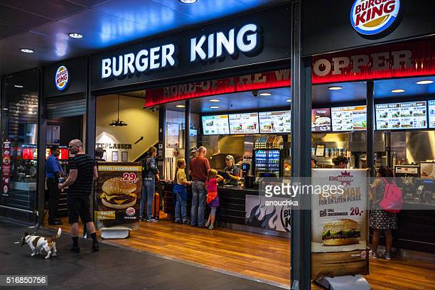 Burger King at Oslo Central Train Station, Norway
