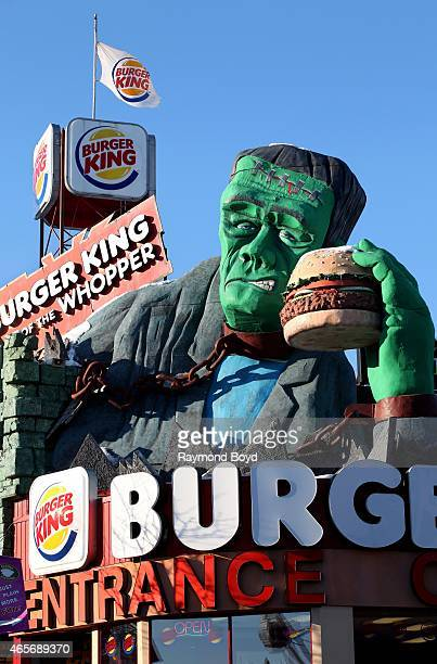 Burger King at The House Of Frankenstein on February 28 2015 in Niagara Falls Ontario Canada