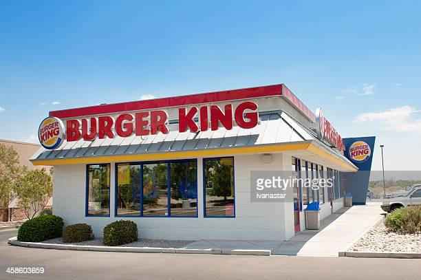 burger king fast food reastaurant - burger king stock pictures, royalty-free photos & images