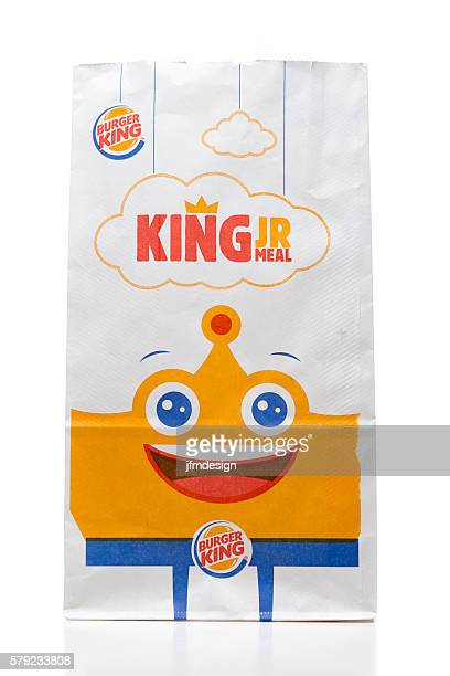 Burger King kids meal takeout bag