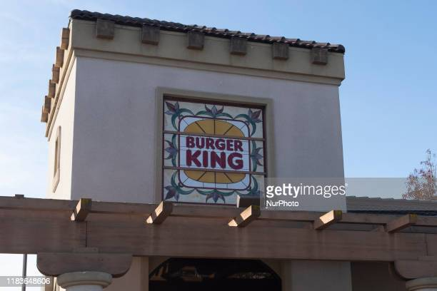 Burger King logo is seen in a store in Sunnyvale California United States on Wednesday November 20 2019 A vegan man has sued Burger King claiming...