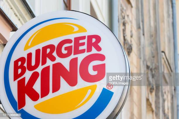 Burger King logo seen at one of their restaurants.