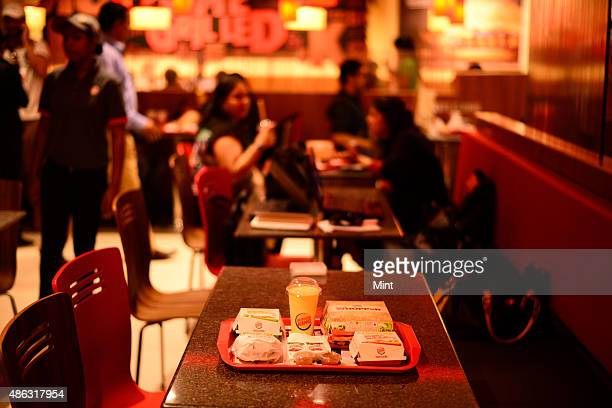 Burger King outlet at Select City mall on November 11 2014 in New Delhi India Photo by Pradeep Gaur/Mint via Getty Images
