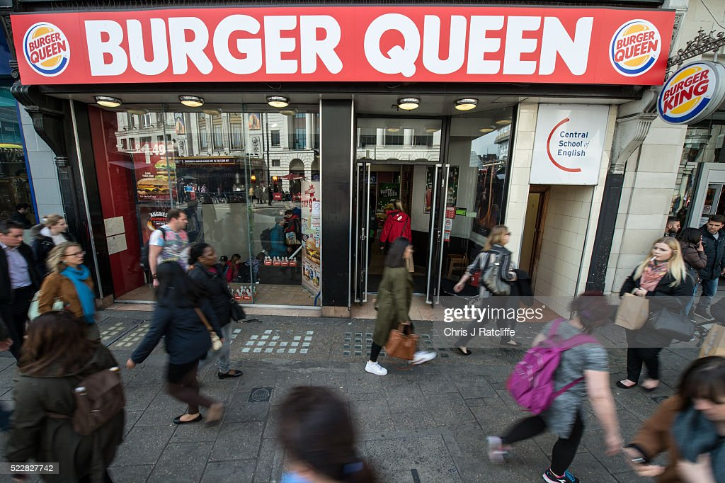A Burger King restaurant has changed its name to 'Burger