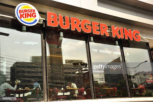 burger king restaurant - burger king stock pictures, royalty-free photos & images
