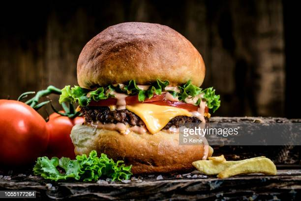 burger - hamburger stock pictures, royalty-free photos & images