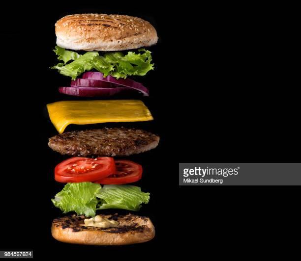 burger - ハンバーガー ストックフォトと画像