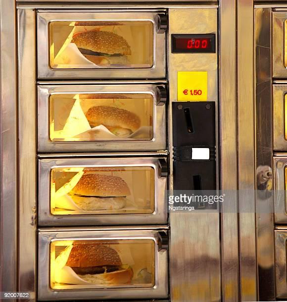 Burger Distributeur automatique