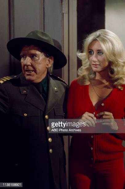 Burgess Meredith Linda Gaye Scott appearing in the Walt Disney Television via Getty Images tv special 'Old Faithful' dedicated to Old Faithful