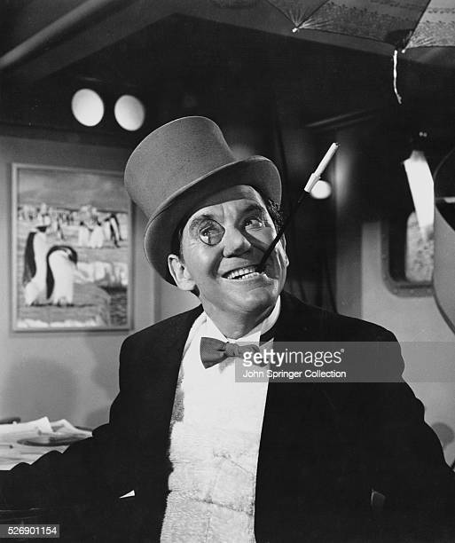 Burgess Meredith plays the Penguin in the 1966 movie Batman.