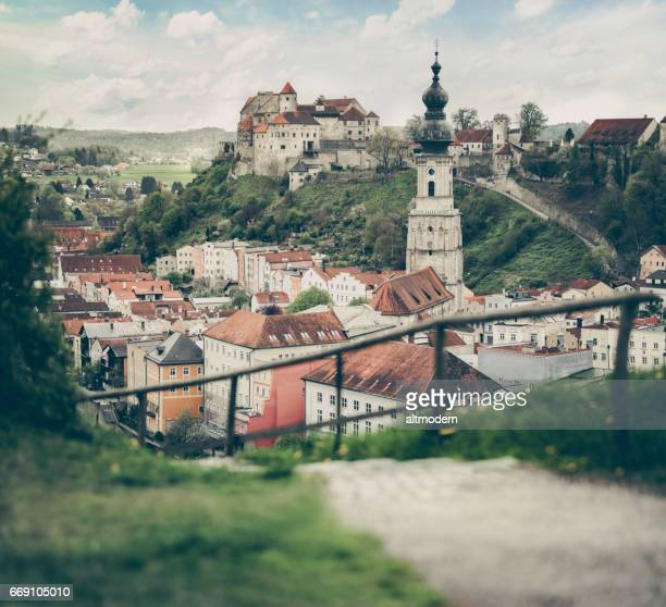 burghausen bavaria - altötting stock photos and pictures