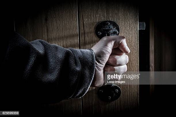 Burglar entering a dark room Monmouth Wales