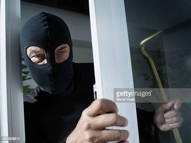 Burglar Entering Room