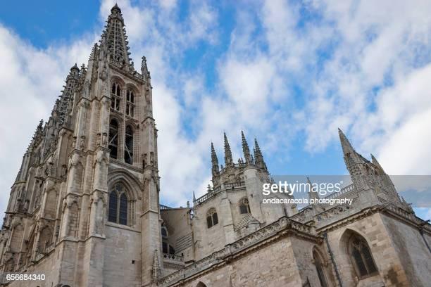 burgos cathedral - ブルゴス ストックフォトと画像