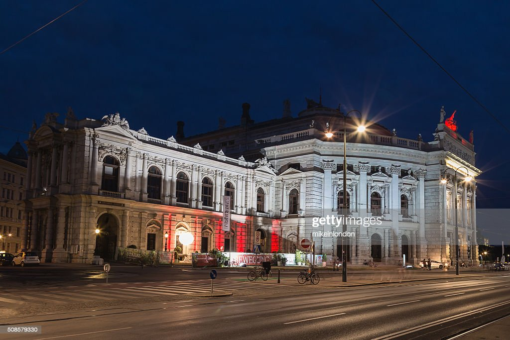 Burgtheater in Vienna : Stock Photo
