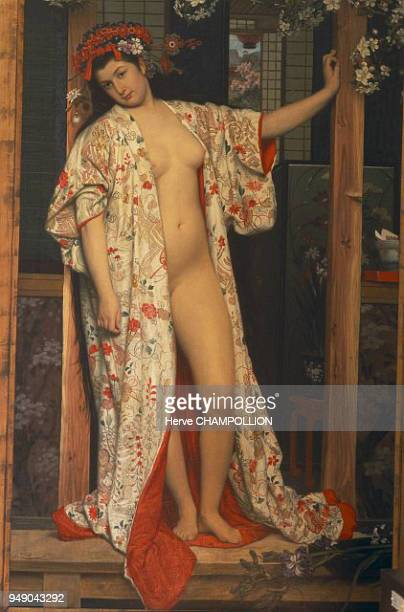 Cote d'Or La Japonaise au Bain by James TISSOT at the Museum of Fine Arts in Dijon This nude painting both elegant and provocative testifies to the...