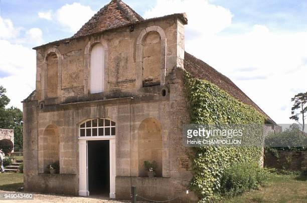 Cote d'Or the Domaine of the old forges of Buffon today the Museum of the steel industry The entrance Bourgogne Côted'Or le Domaine des anciennes...