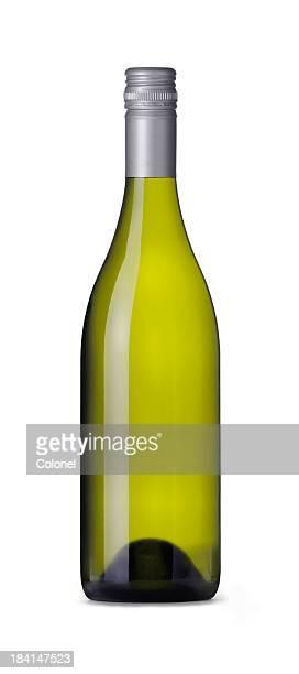 Burgundy Shape Wine Bottle