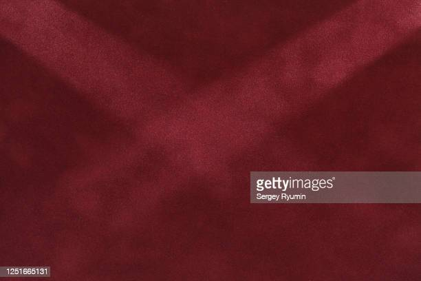burgundy velvet with lighting - maroon stock pictures, royalty-free photos & images