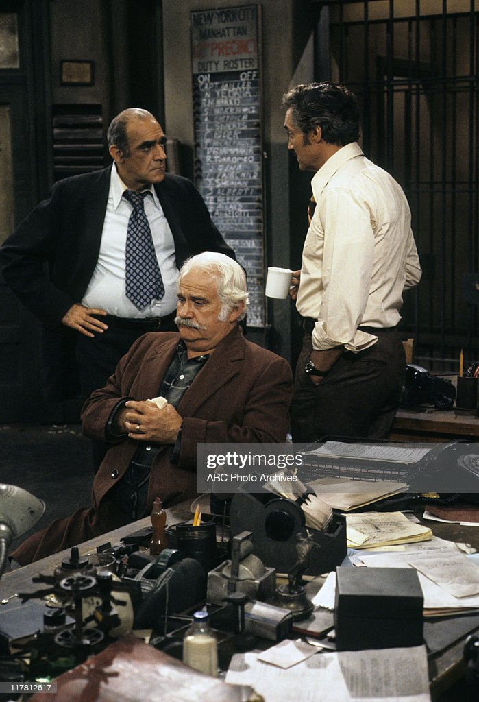 ABE VIGODA;JACK KRUSCHEN;HAL LINDEN : News Photo
