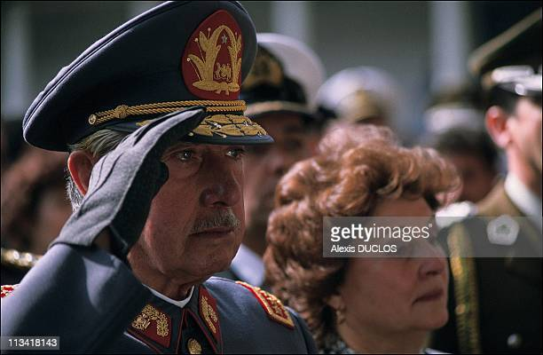 Burial of 4 guards killed in failed assassination attempt on Augusto Pinochet On September 10th, 1986 In Santiago,Chile