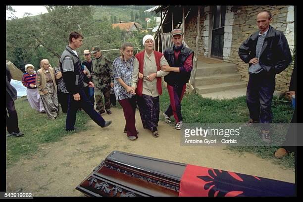 Burial of hte KLA soldier Salih Hysni Kermeni