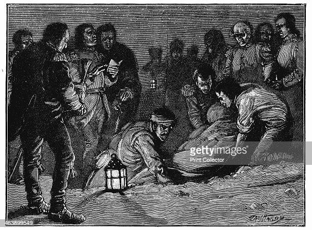 Burial of LieutenantGeneral Sir John Moore Scottishborn British soldier La Coruna Spain 1809 Moore commanded the British forces at the Battle of...