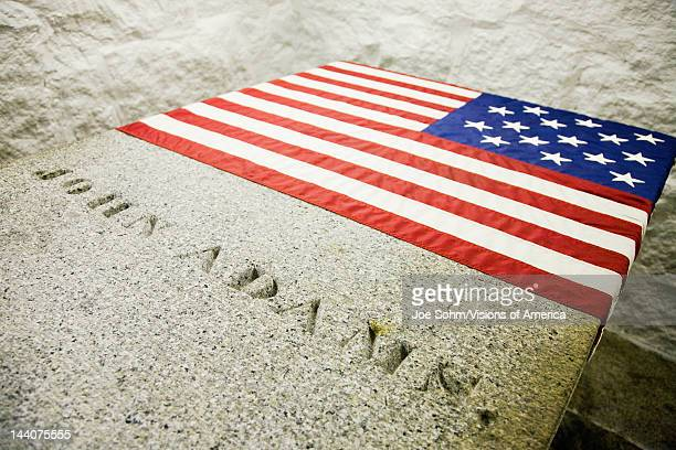 Burial vault and tomb of John Quincy Adams 6th President and his wife Louisa Catherine and John Adams the 2nd President and his wife Abigail Adams...