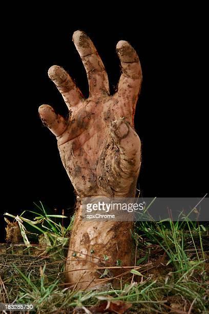 enterradas de mano - zombie fotografías e imágenes de stock