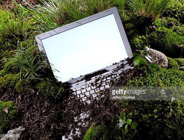 Buried Laptop