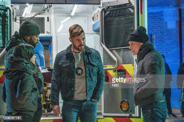 D Buried Secrets Episode 720 Pictured Lisseth Chavez as Vanessa Rojas LaRoyce Hawkins as Kevin Atwater Patrick John Flueger as Adam Ruzek Jason Beghe...