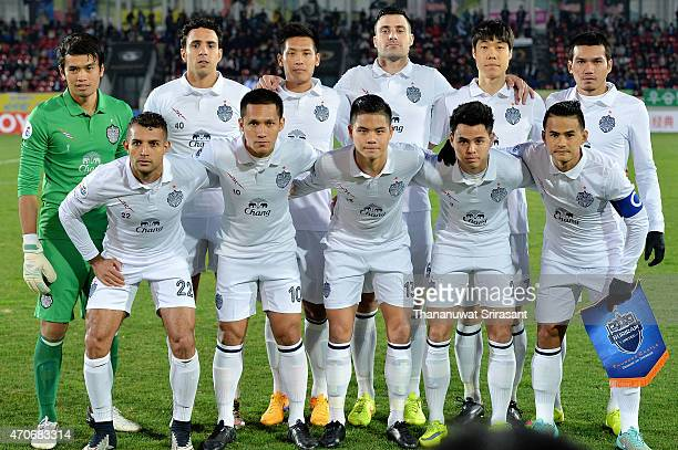 Buriram United player poses during the Asian Champions League match between Seongnam FC and Buriram United at Tancheon Sports Complex on April 22,...