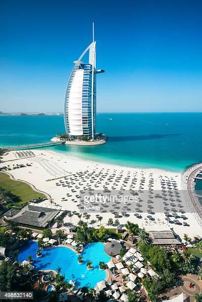 Burj Al Arab Hotel und die marina, Dubai