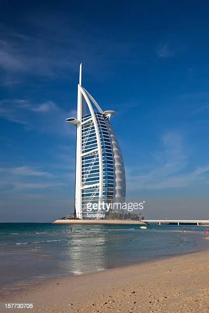 Burj Al Arab, the world's most luxurious hotel resort, Dubai