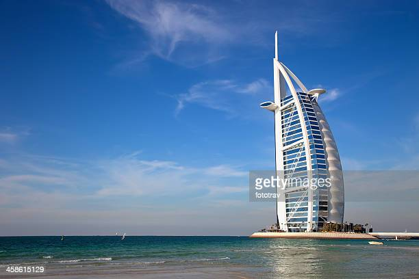 Burj Al Arab, the world's most luxurious hotel resort, Dubai