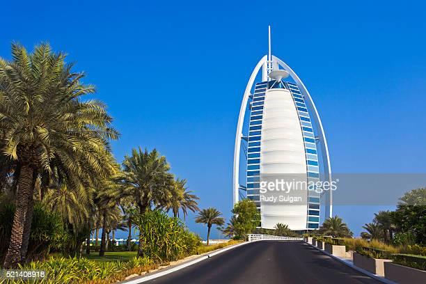 Burj al-Arab hotel in Dubai
