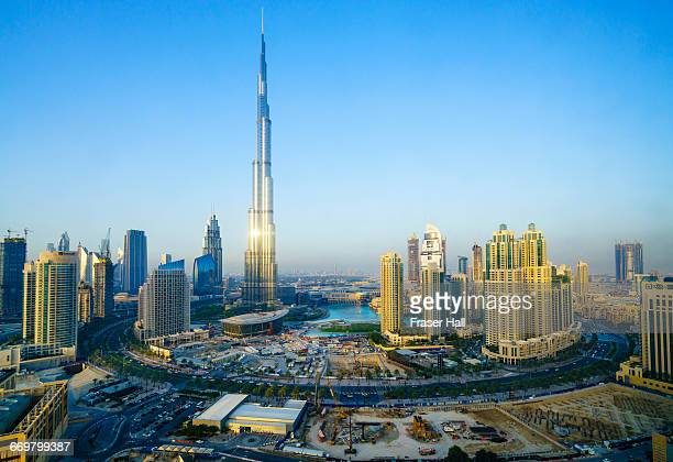 Burj Khalifa and Downtown skyline, Dubai