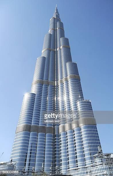 Burj Khalifa der höchste Turm der Welt in Dubai