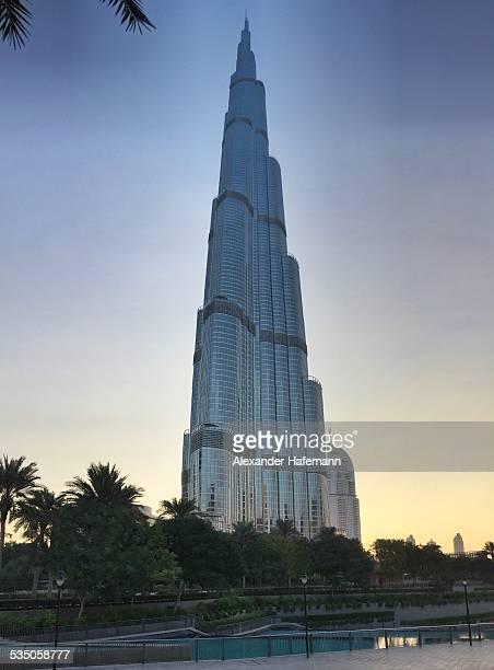 Burj Khalifa Dubai Sunrise