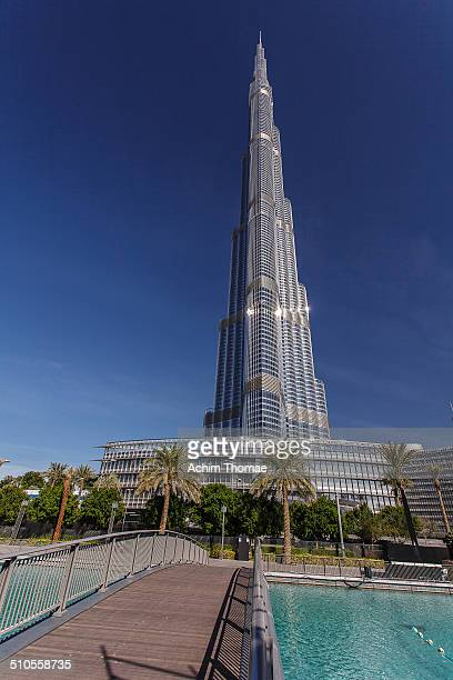Burj Khalifa known as Burj Dubai prior to its inauguration is a skyscraper in Dubai United Arab Emirates and is the tallest manmade structure in the...