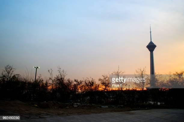 Burj Milad - sunset