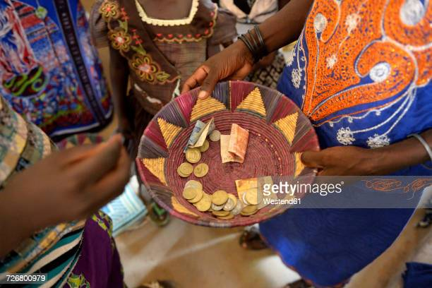 Burkina Faso, collection during a mass