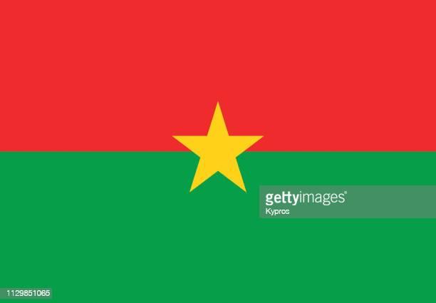 burkina faso flag - ブルキナファソ ストックフォトと画像
