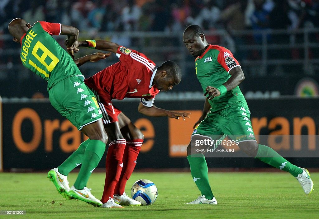 Burkina Faso v Congo - 2015 Africa Cup of Nations: Group A