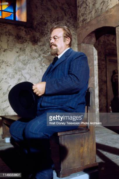 Burl Ives appearing on the ABC tv series 'Alias Smith and Jones'.