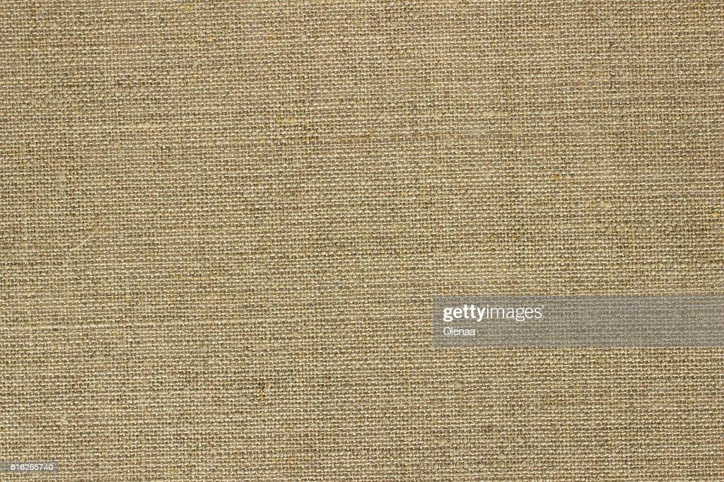 Burlap Background Fabric : Foto de stock