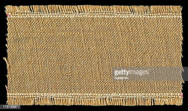 burlap textured background with full frame - tassel stock pictures, royalty-free photos & images